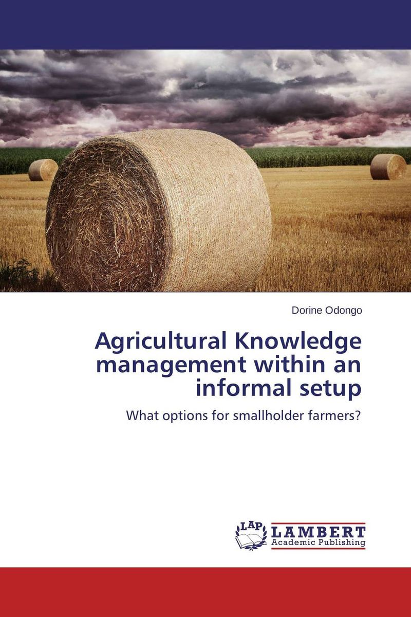 Agricultural Knowledge management within an informal setup agricultural marketing management