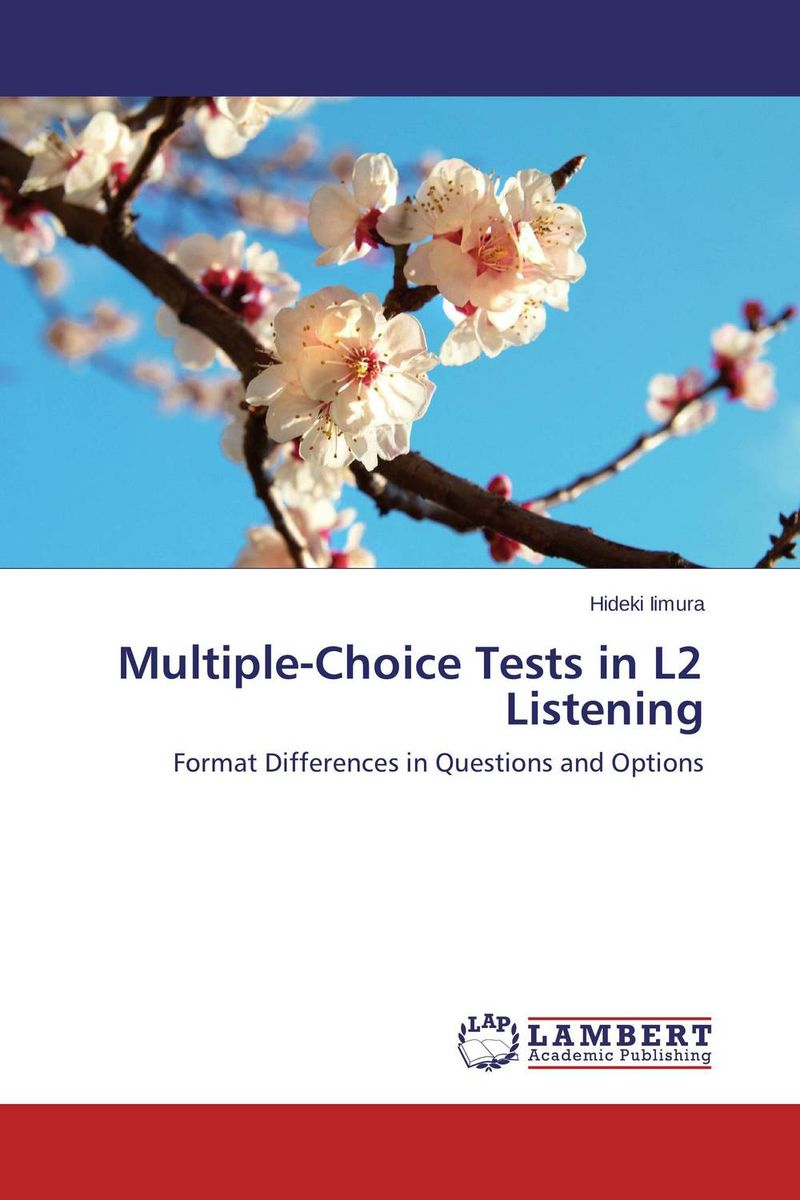 Multiple-Choice Tests in L2 Listening multiple choice questions in hospital surgery