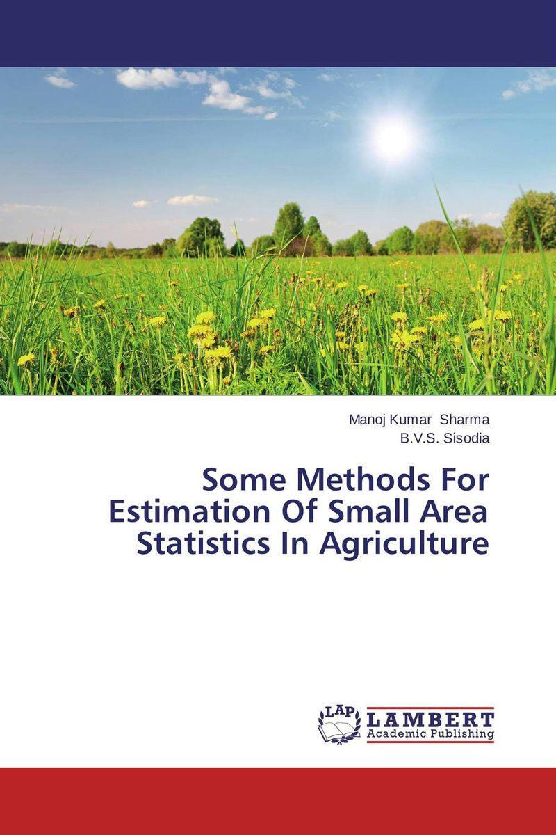 Some Methods For Estimation Of Small Area Statistics In Agriculture the application of wavelets methods in stefan problem