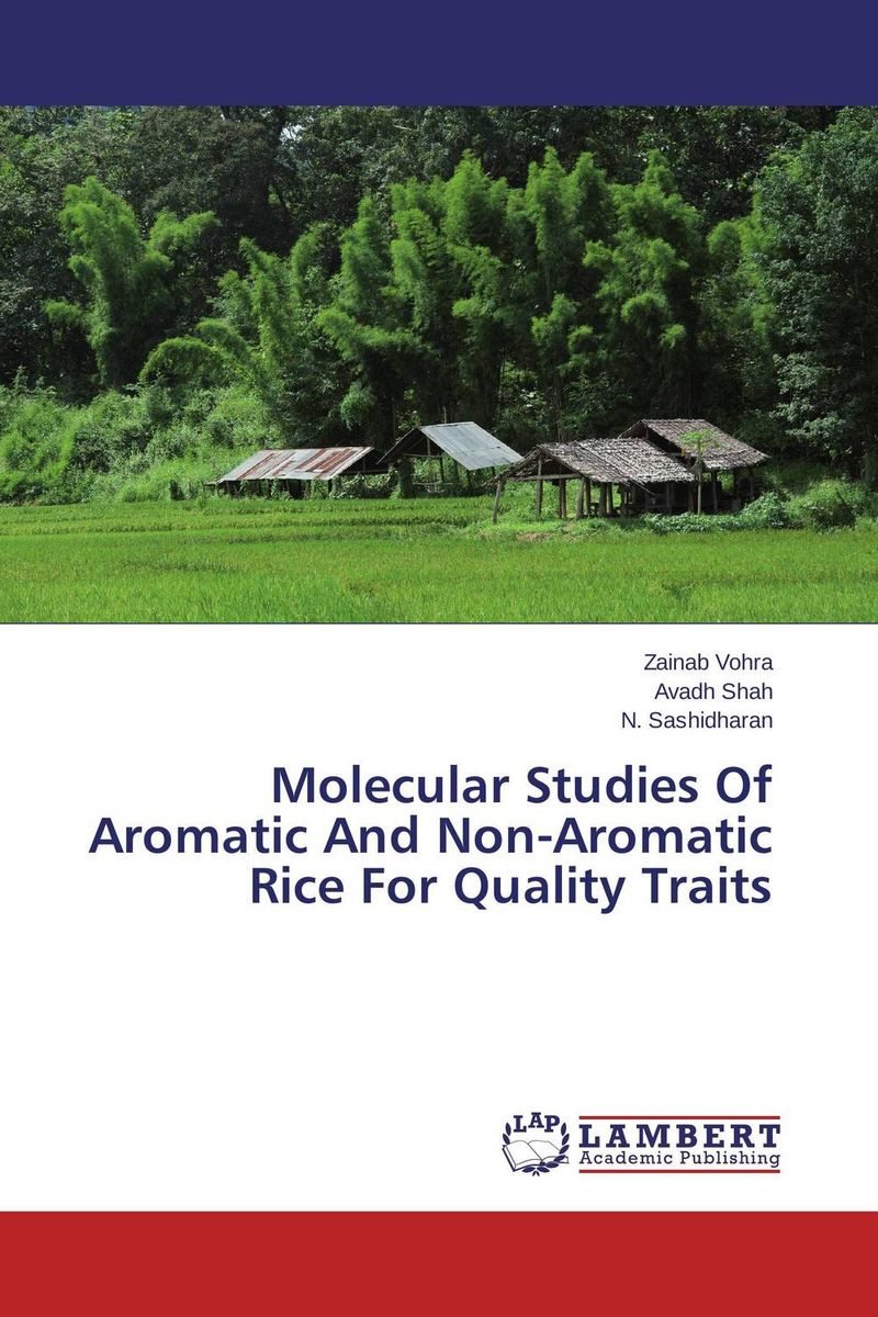 Molecular Studies Of Aromatic And Non-Aromatic Rice For Quality Traits дорожная косметичка rice grain of rice a01 032 2014