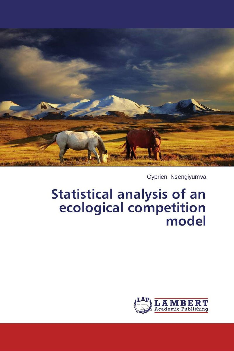 Statistical analysis of an ecological competition model fingerprint authentication based on statistical features