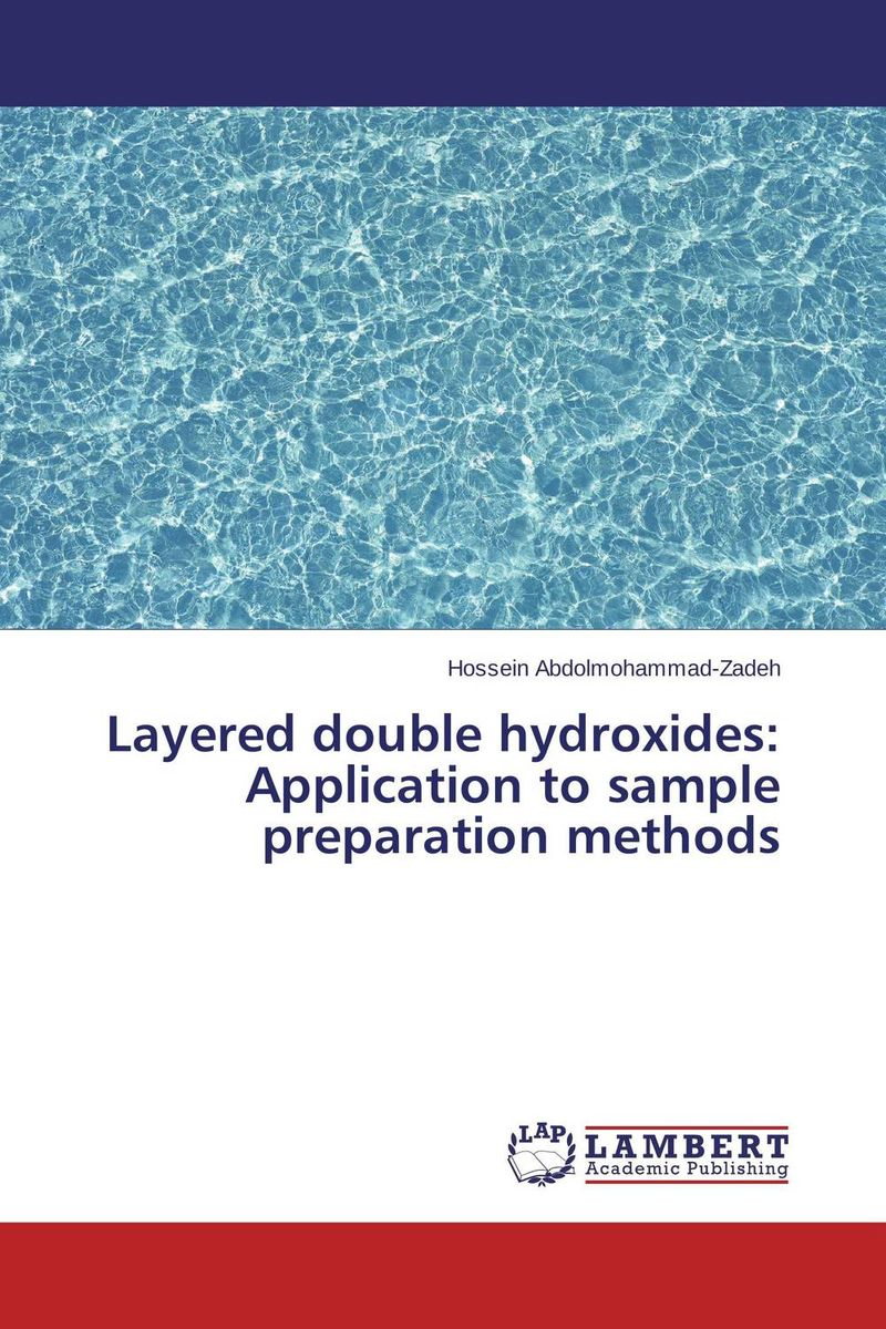 Layered double hydroxides: Application to sample preparation methods the application of wavelets methods in stefan problem