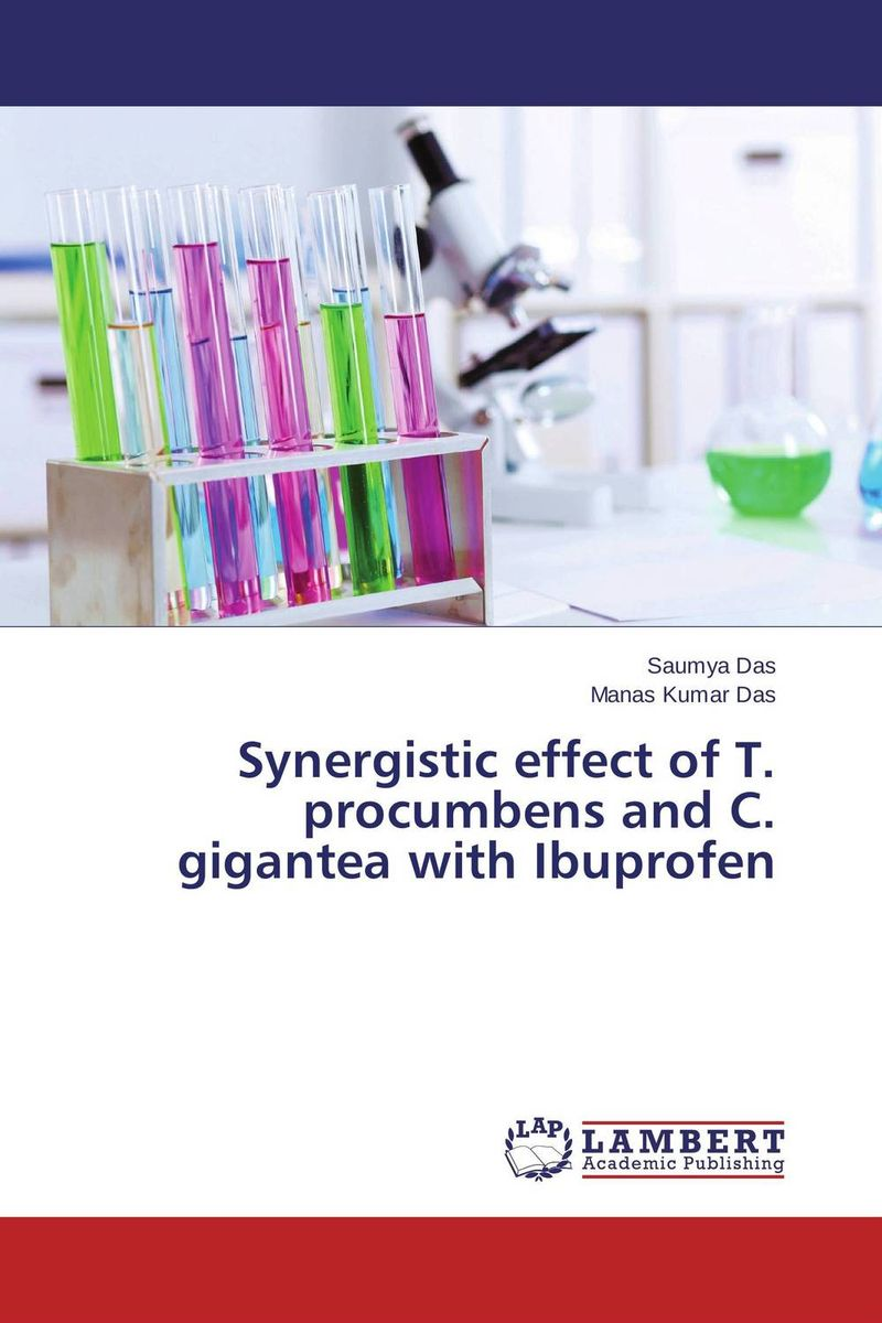 Synergistic effect of T. procumbens and C. gigantea with Ibuprofen effect of depression and drugs on sialometry and sialochemistry