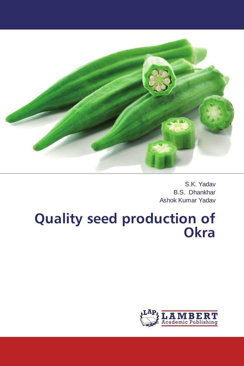 Quality seed production of Okra usha rani m uma jyothi k and syam sundar reddy p study on effect of growth regulators and micronutrients on okra growth and yield of okra
