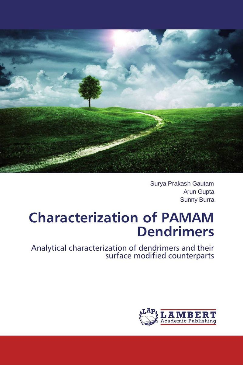 Characterization of PAMAM Dendrimers drug discovery and design
