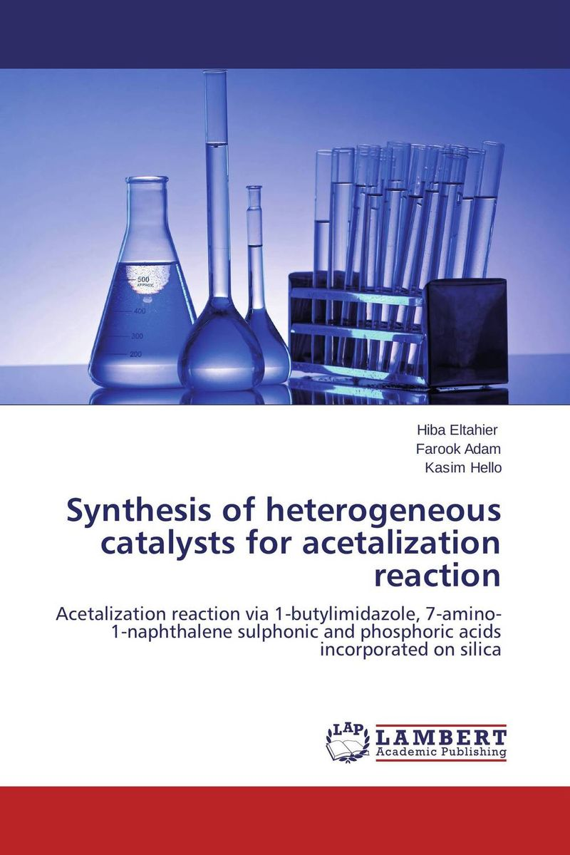 Synthesis of heterogeneous catalysts for acetalization reaction heterogeneous database using xml