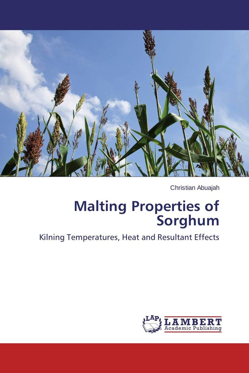 Malting Properties of Sorghum butterflies in the barley
