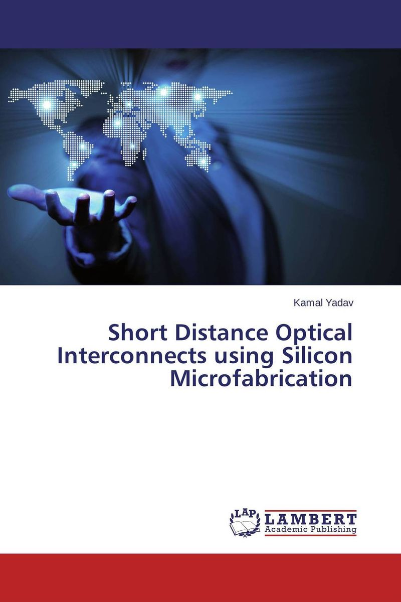 Short Distance Optical Interconnects using Silicon Microfabrication stress induced birefringence in polymer optical waveguides