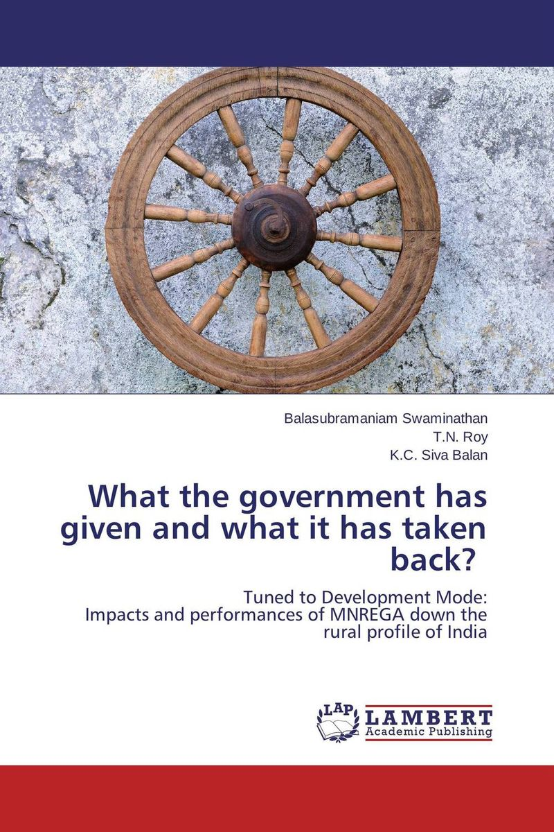 What the government has given and what it has taken back? given to the sea