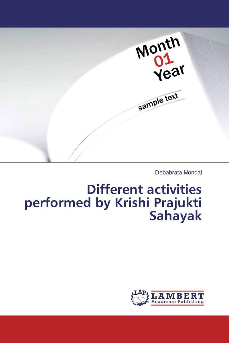Different activities performed by Krishi Prajukti Sahayak driven to distraction
