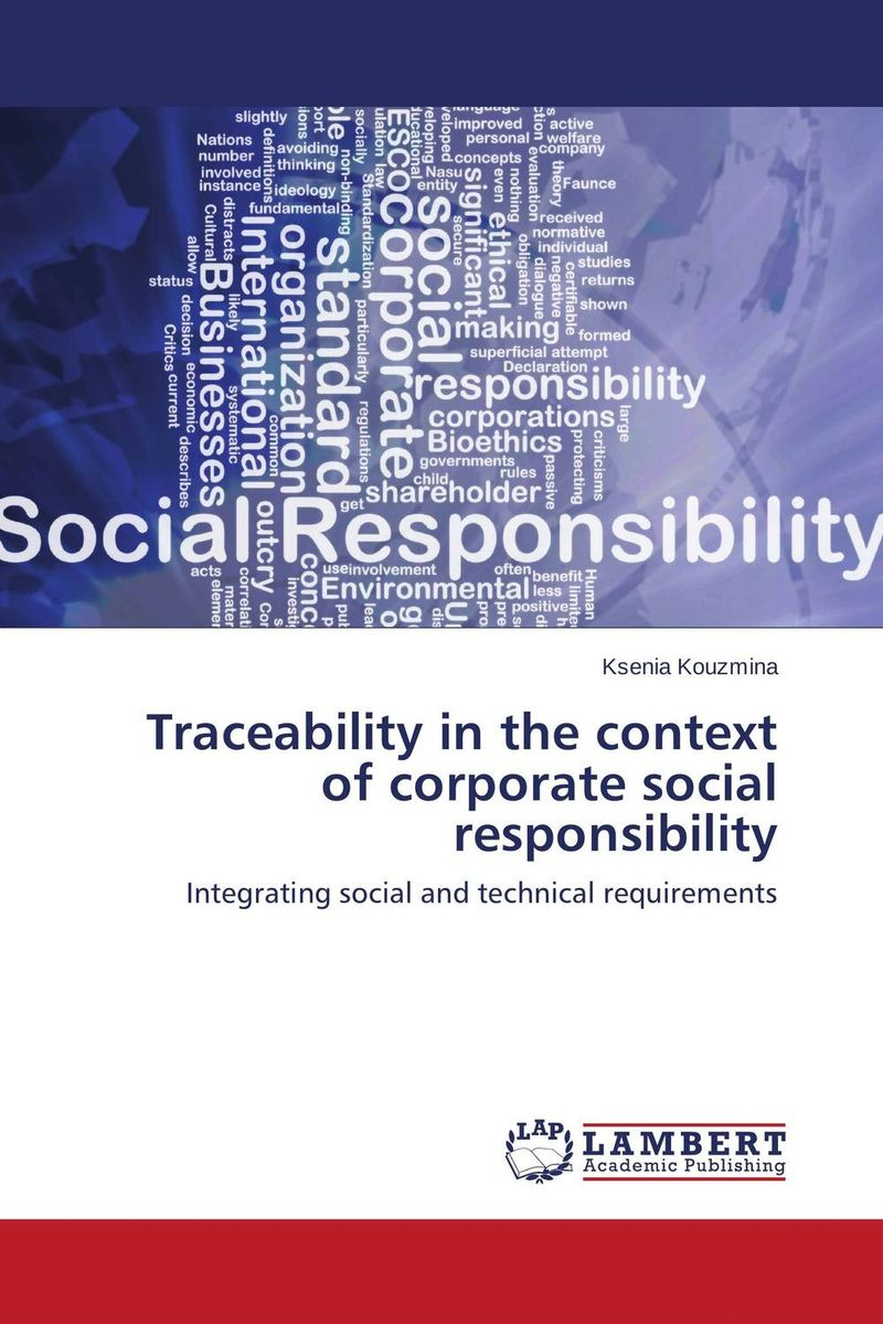 Traceability in the context of corporate social responsibility