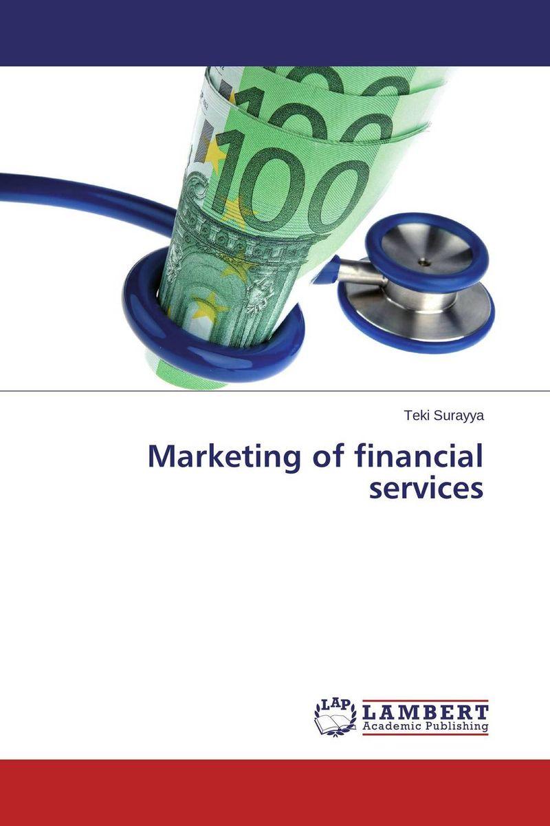 Marketing of financi...