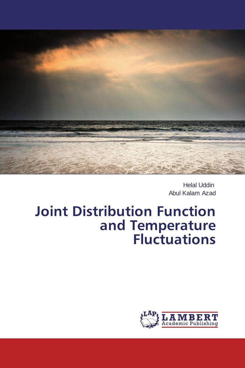 Joint Distribution Function and Temperature Fluctuations on the distribution of information structures and focal points