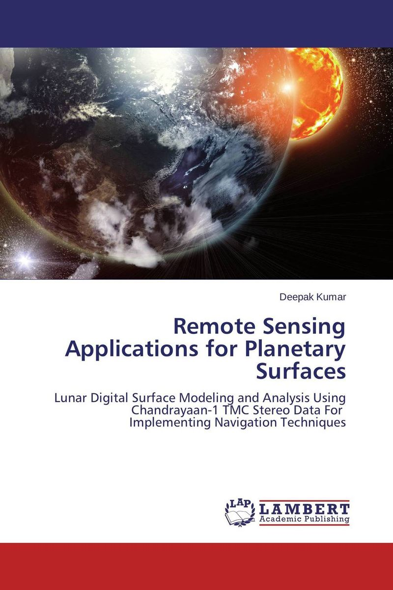 Remote Sensing Applications for Planetary Surfaces remote sensing inversion problems and natural hazards asradvances in space research volume 21 3