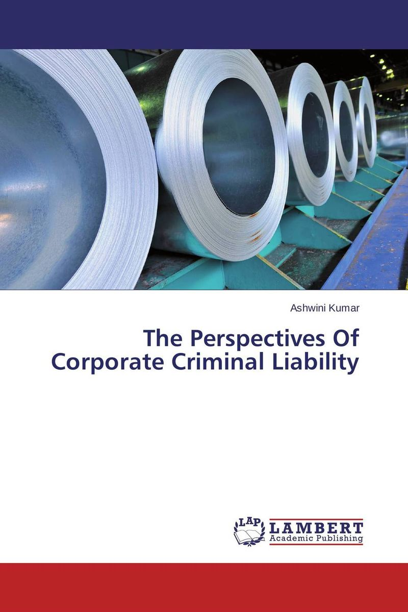 The Perspectives Of Corporate Criminal Liability sim segal corporate value of enterprise risk management the next step in business management