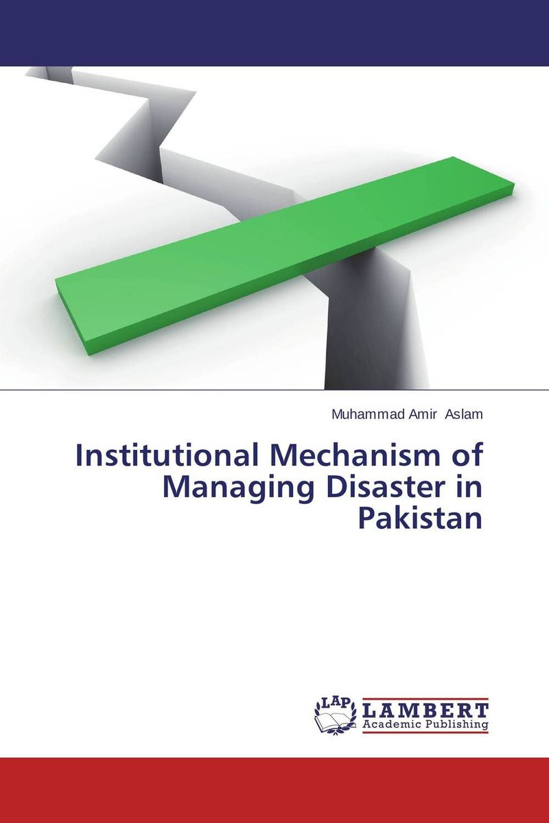 Institutional Mechanism of Managing Disaster in Pakistan evaluation of pile failure mechanism by piv method
