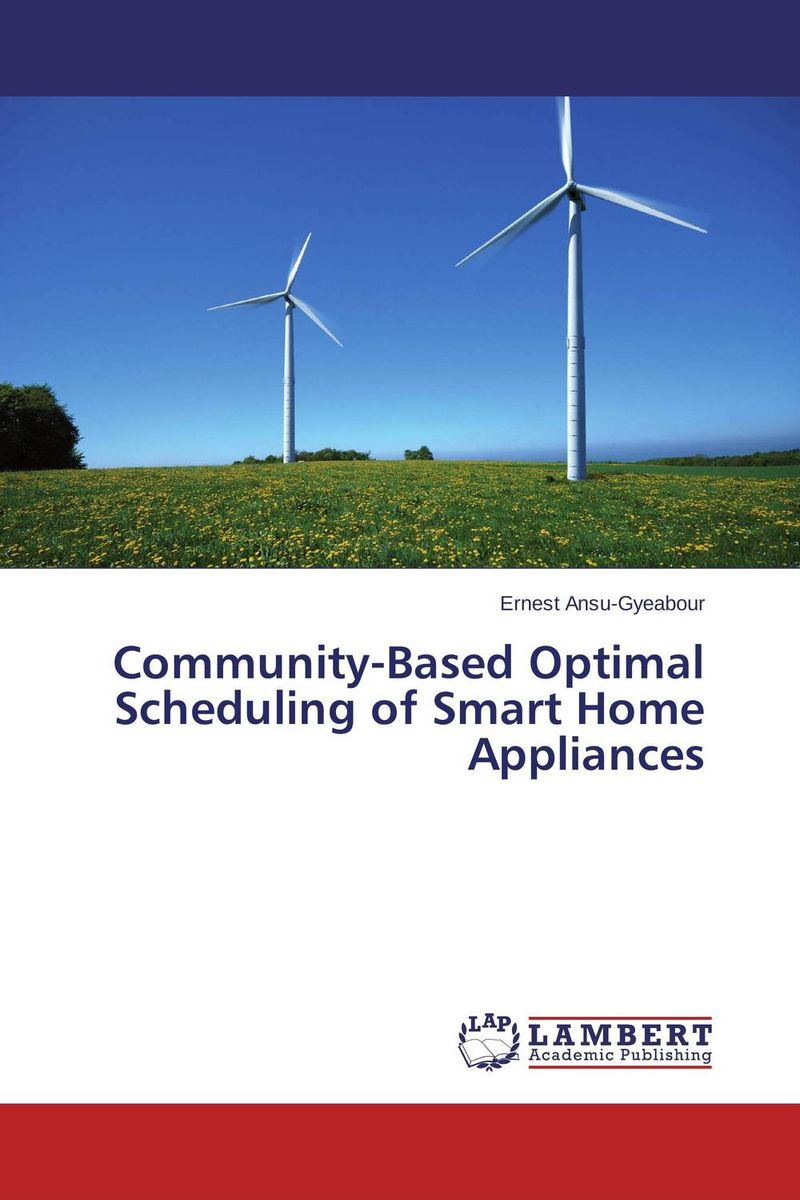 Community-Based Optimal Scheduling of Smart Home Appliances поднос kesper 50 х 35 см