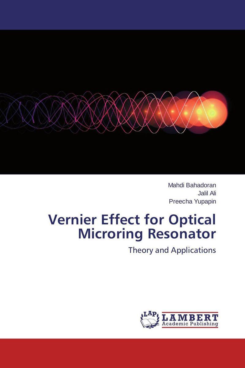 Vernier Effect for Optical Microring Resonator rakesh kumar khandal geetha seshadri and gunjan suri novel nanocomposites for optical applications