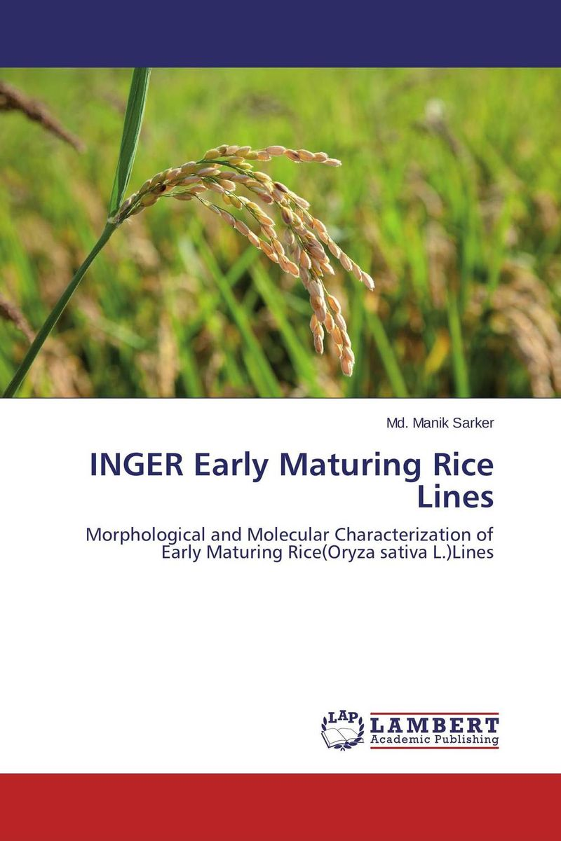 INGER Early Maturing Rice Lines vikas kumar singh morphological and molecular characterization of tgms lines in rice