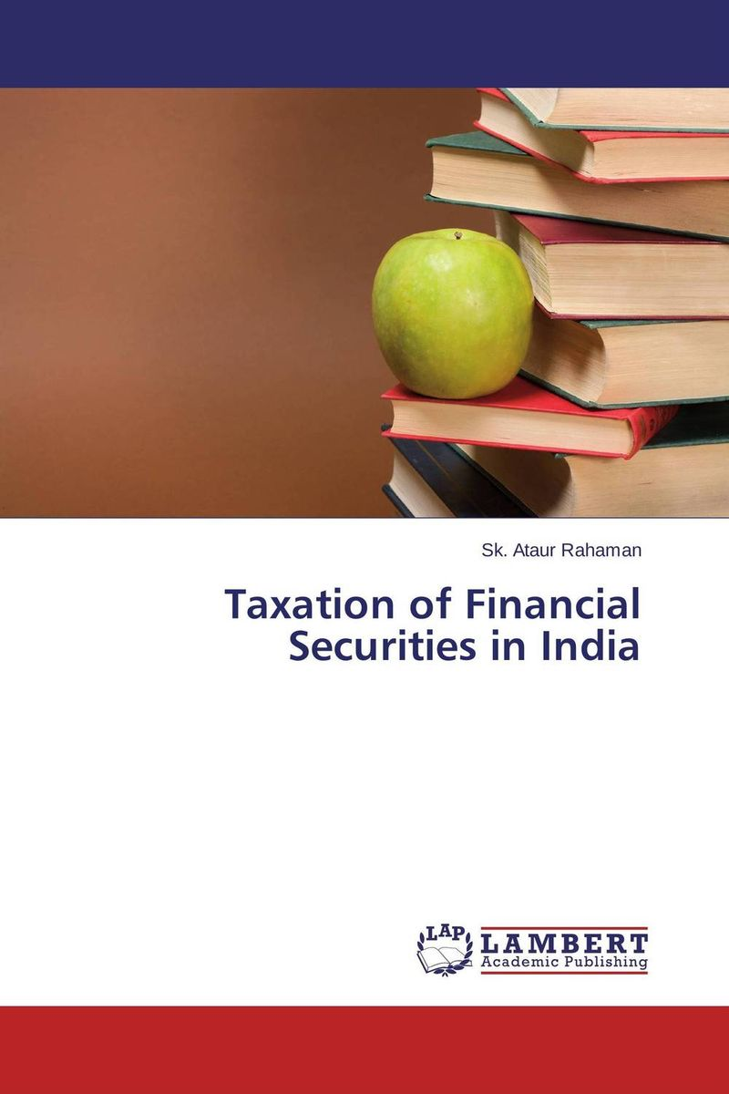 Taxation of Financial Securities in India prasanta kumar hota and anil kumar singh synthetic photoresponsive systems