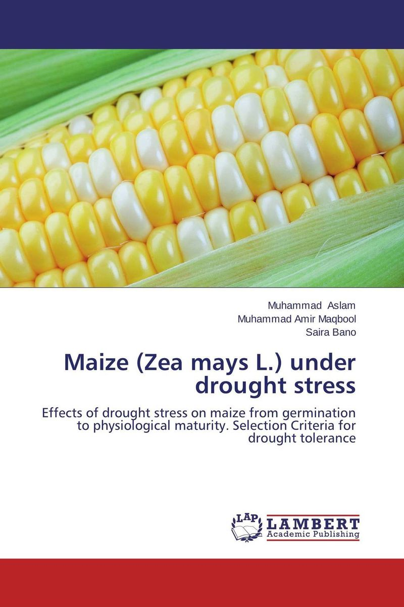 Maize (Zea mays L.) under drought stress drought stress in peanut