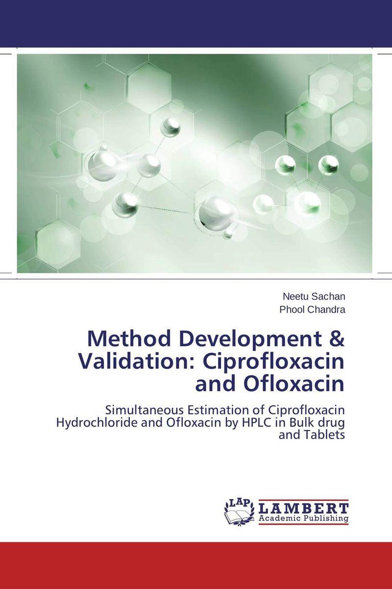 Method Development & Validation: Ciprofloxacin and Ofloxacin the method