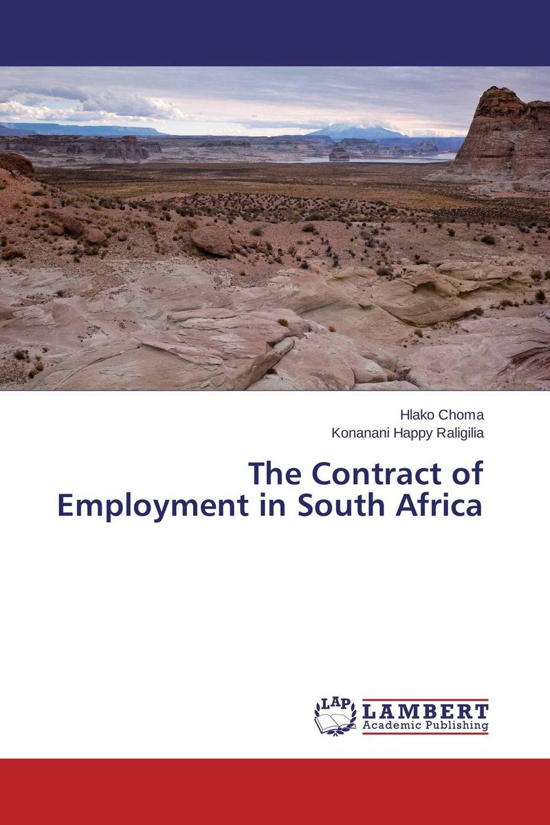 The Contract of Employment in South Africa south african mnes in africa