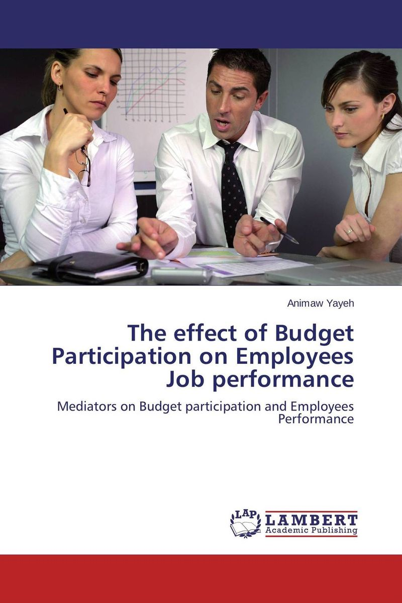 цены The effect of Budget Participation on Employees Job performance