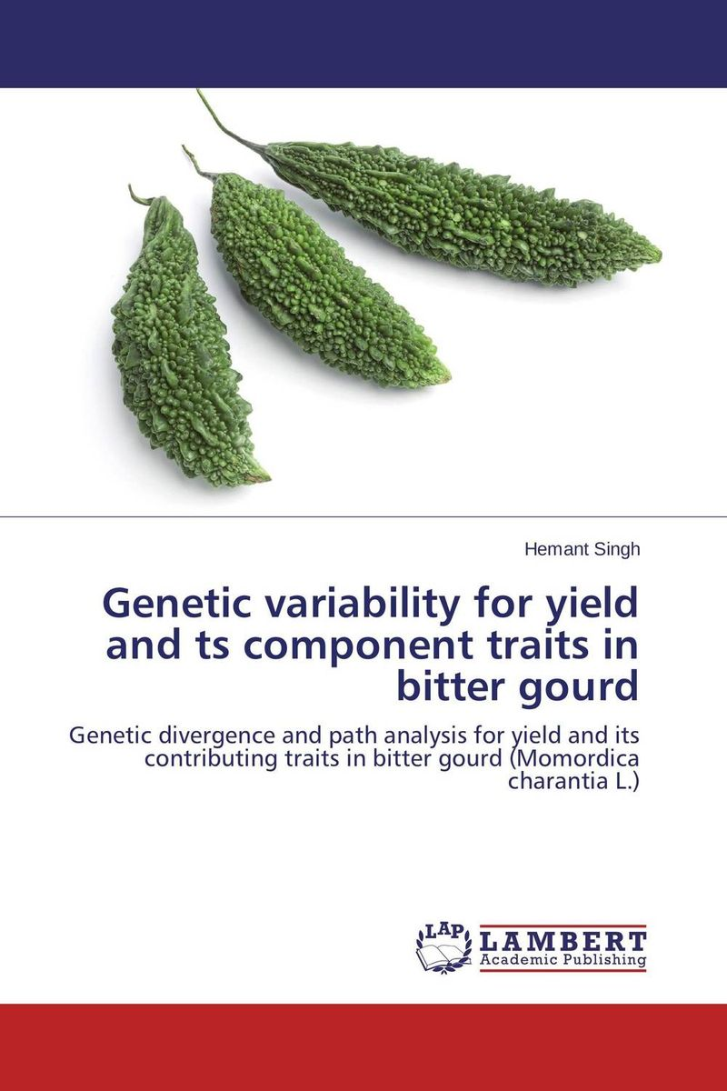 Genetic variability for yield and ts component traits in bitter gourd купить