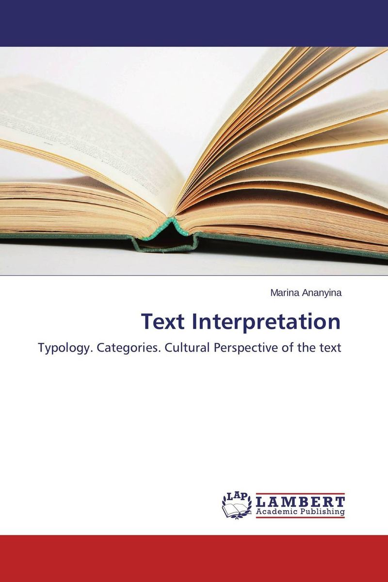 Text Interpretation the stylistic identity of english literary texts