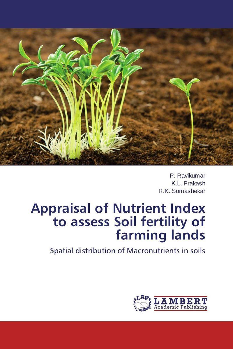 купить Appraisal of Nutrient Index to assess Soil fertility of farming lands недорого