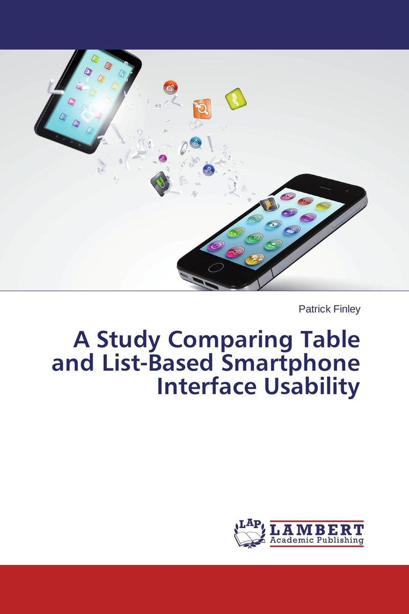 A Study Comparing Table and List-Based Smartphone Interface Usability simple fashion table desktop is mdf fine processing the leg of the table is made of solid beech black and white can be chosen
