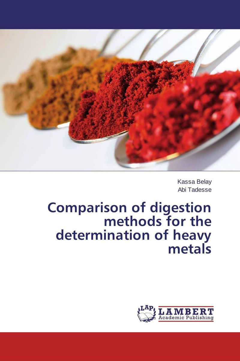Comparison of digestion methods for the determination of heavy metals in situ detection of dna damage methods and protocols