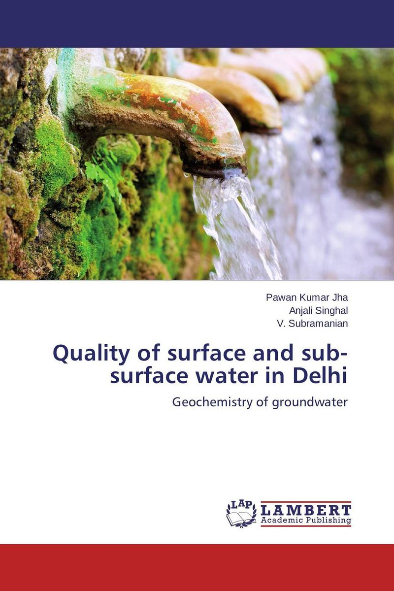Quality of surface and sub-surface water in Delhi bride of the water god v 3