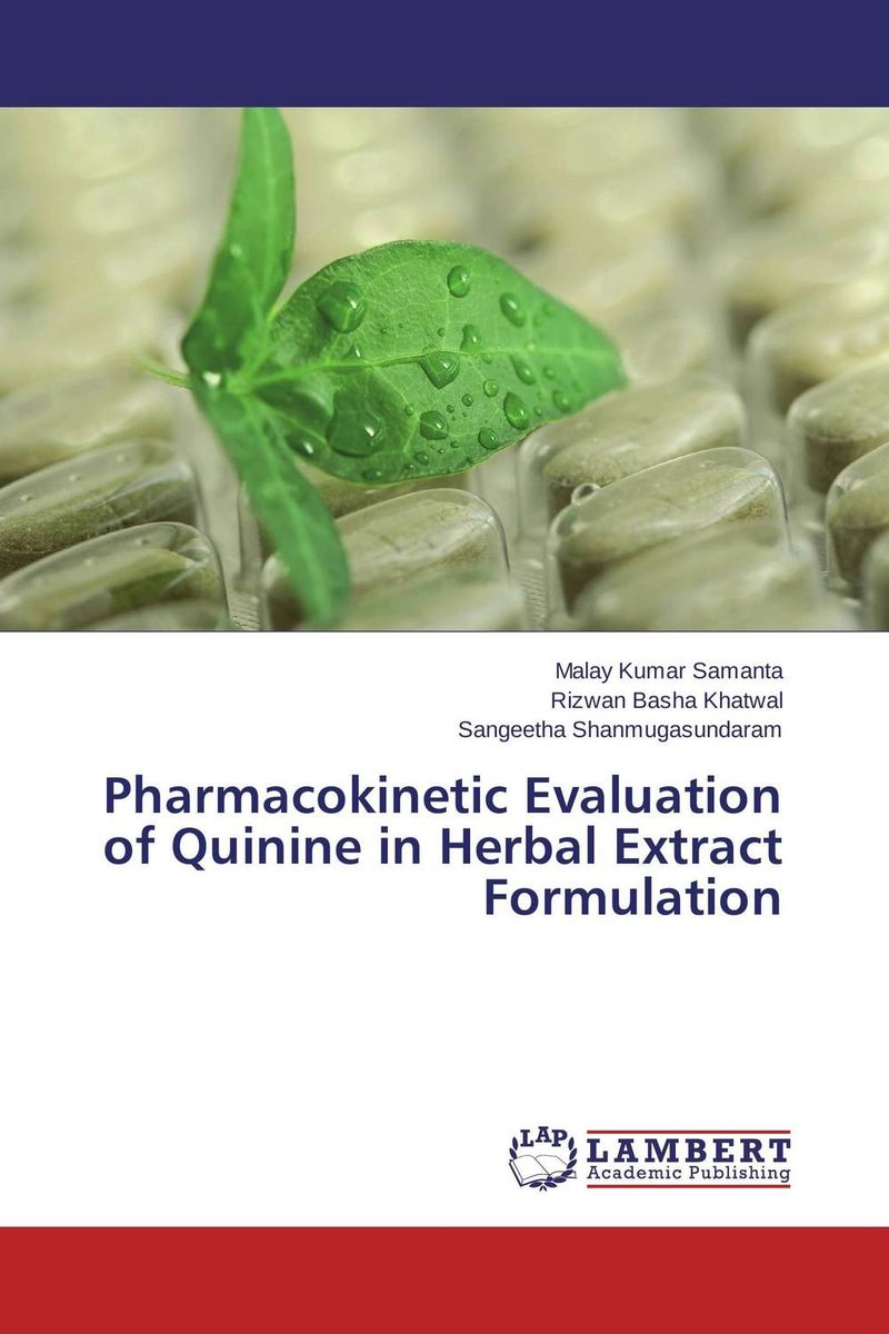 Pharmacokinetic Evaluation of Quinine in Herbal Extract Formulation amita yadav kamal singh rathore and geeta m patel formulation evaluation and optimization of mouth dissolving tablets