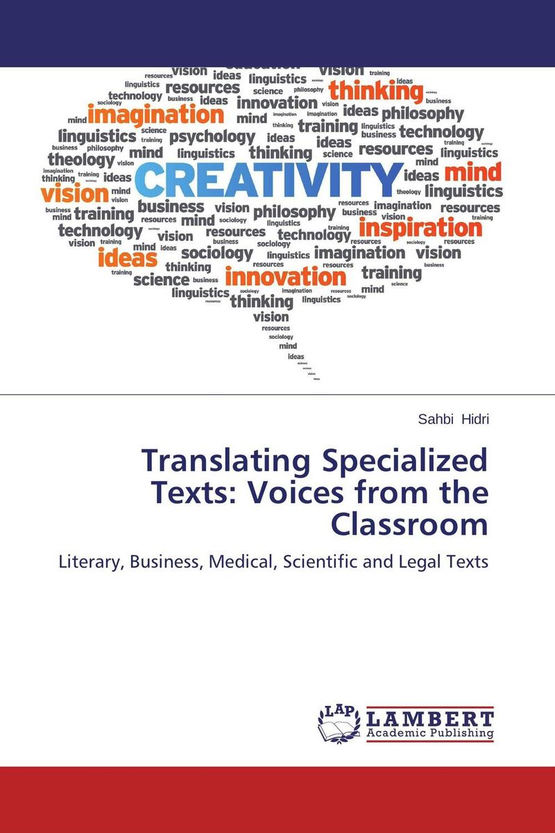 Translating Specialized Texts: Voices from the Classroom