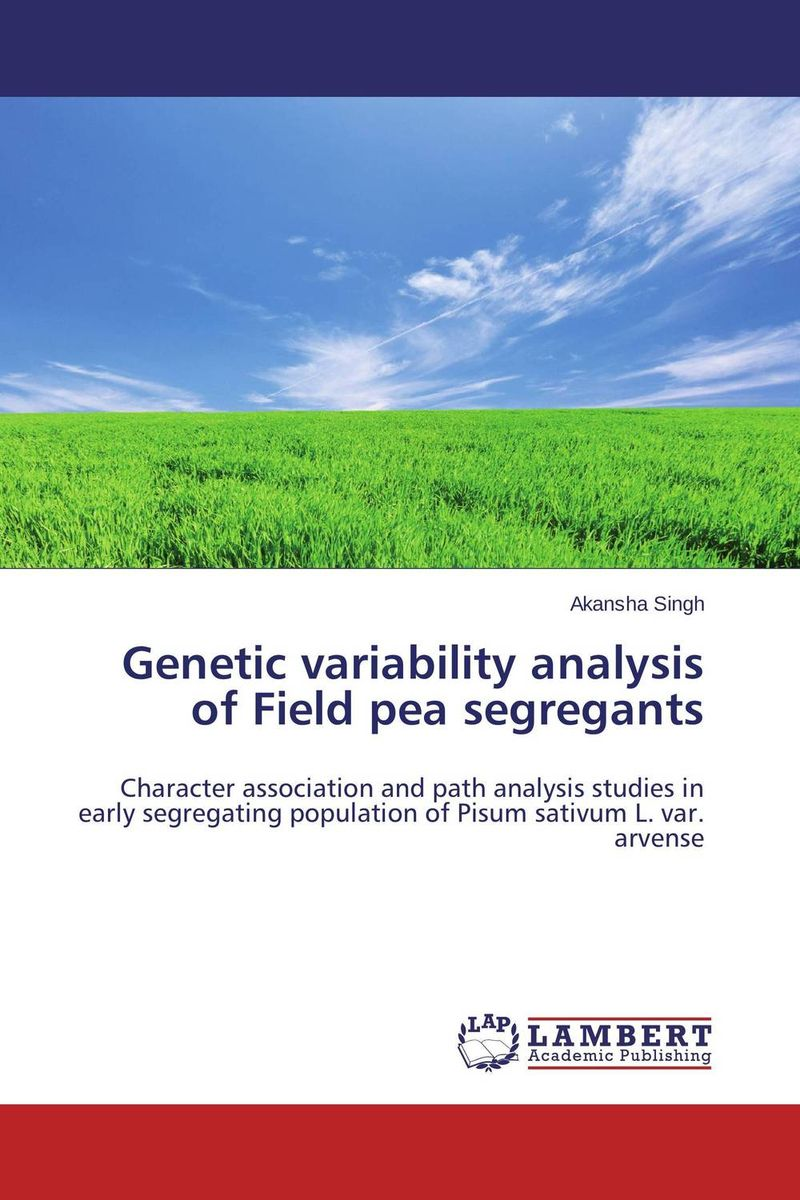 Genetic variability analysis of Field pea segregants купить