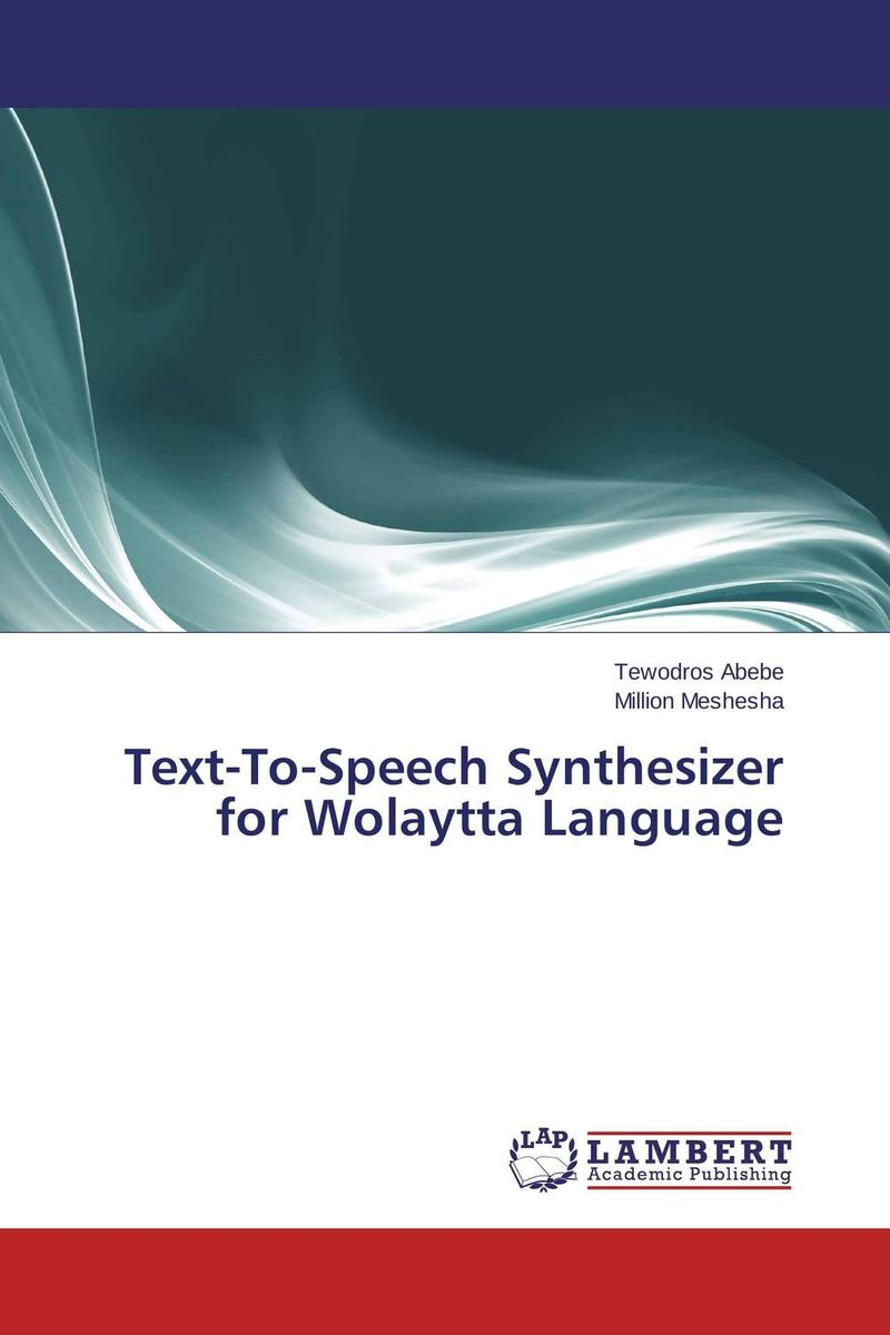 Text-To-Speech Synthesizer for Wolaytta Language j c goodman the development of speech perception – the transition from speech sounds to spoken words