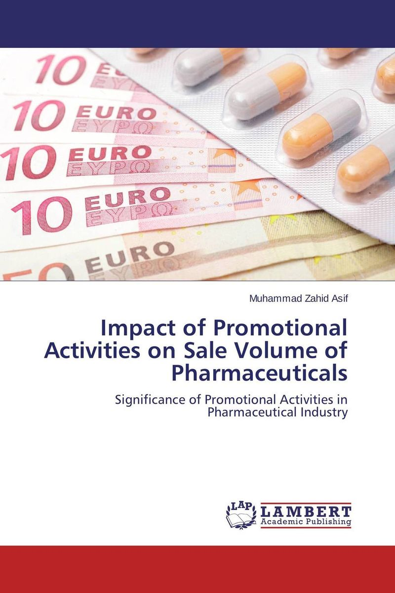 Impact of Promotional Activities on Sale Volume of Pharmaceuticals купить