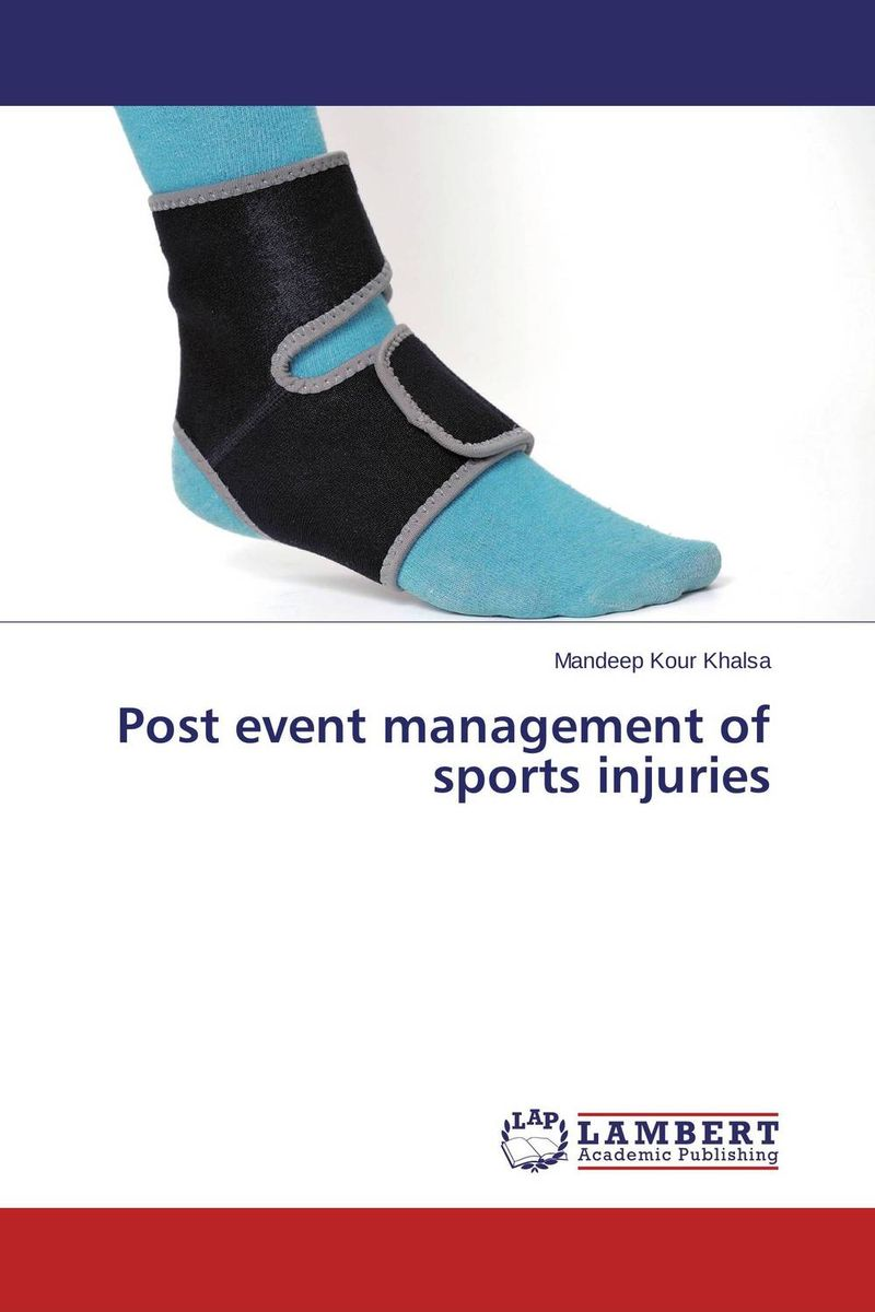 Post event management of sports injuries