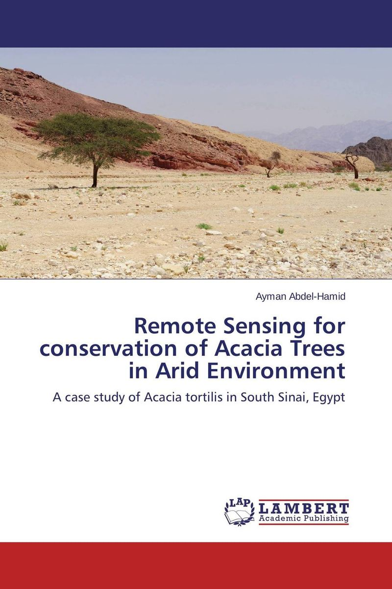 Remote Sensing for conservation of Acacia Trees in Arid Environment coloring of trees