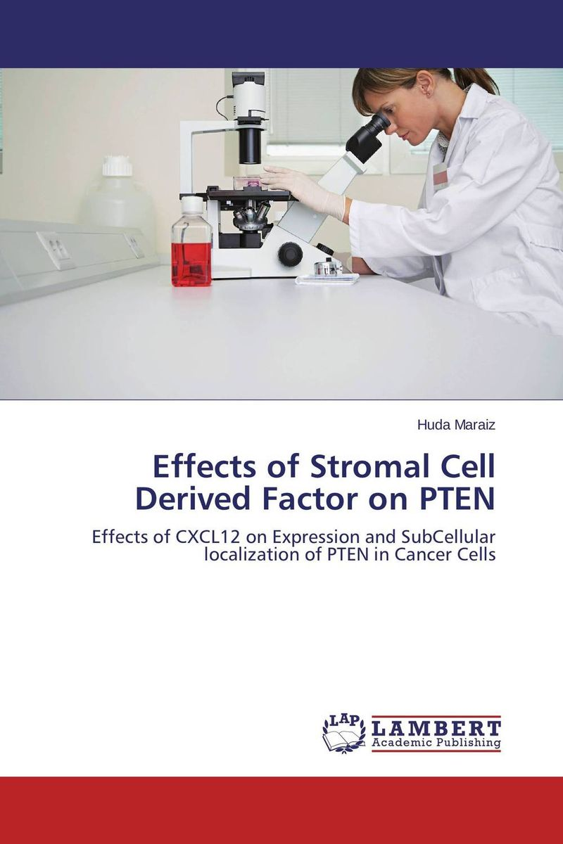 Effects of Stromal Cell Derived Factor on PTEN ravi maddaly madhumitha haridoss and sai keerthana wuppalapati aggregates of cell lines on agarose hydrogels