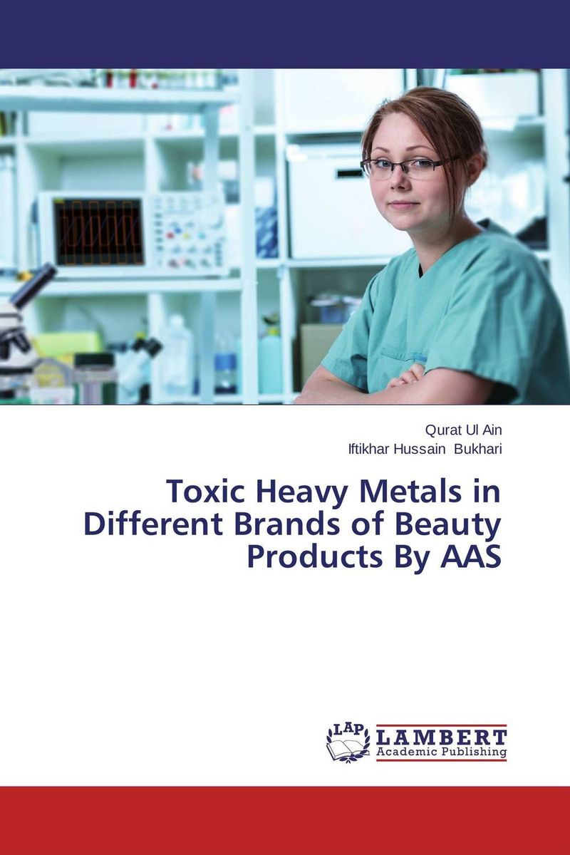 Toxic Heavy Metals in Different Brands of Beauty Products By AAS rakesh kumar assessment of heavy metals co ni