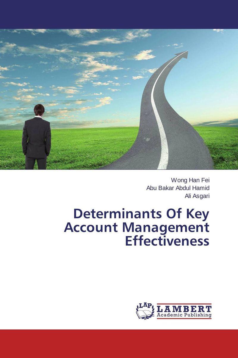 Determinants Of Key Account Management Effectiveness effectiveness of an interactive marketing platform in taipei