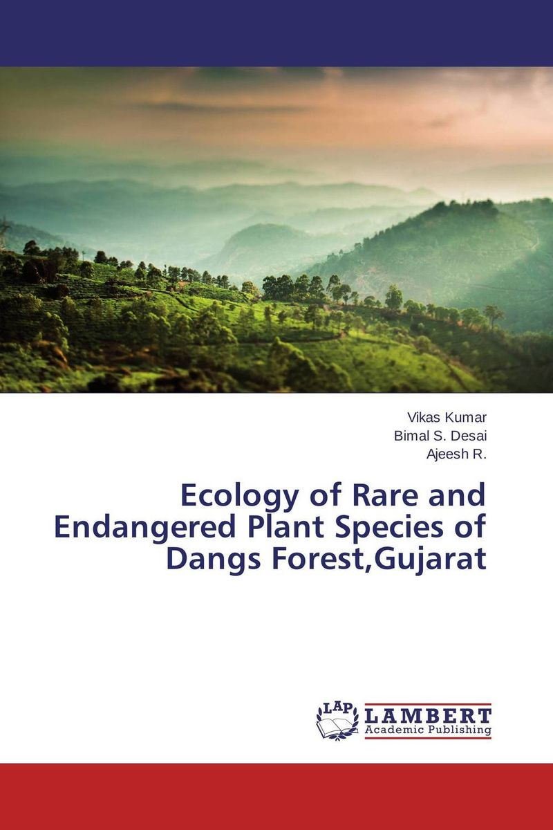 Ecology of Rare and Endangered Plant Species of Dangs Forest,Gujarat community ecology