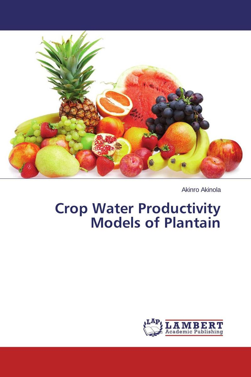 Crop Water Productivity Models of Plantain ornamental plant production in recycled water