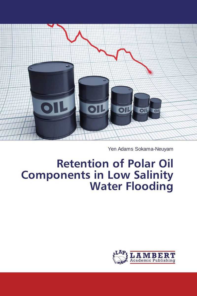 Retention of Polar Oil Components in Low Salinity Water Flooding dearomatization of crude oil