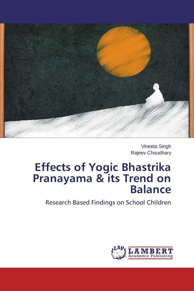 Effects of Yogic Bhastrika Pranayama & its Trend on Balance