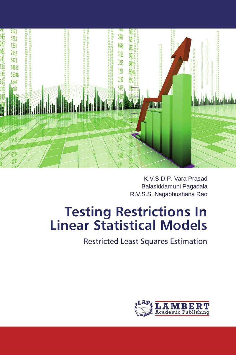 Testing Restrictions In Linear Statistical Models linear regression models with heteroscedastic errors