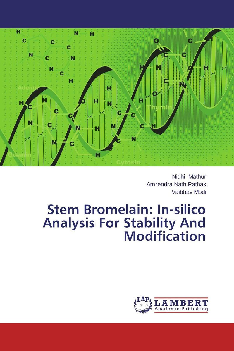 Stem Bromelain: In-silico Analysis For Stability And Modification купить